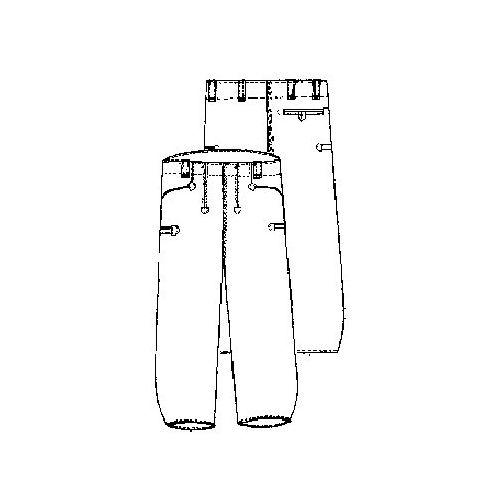 Pantalon velours largeot Allemand