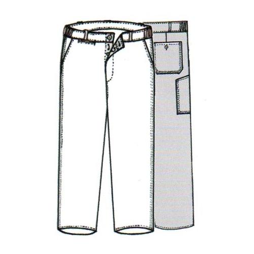 Pantalon de travail Le laboureur en coton