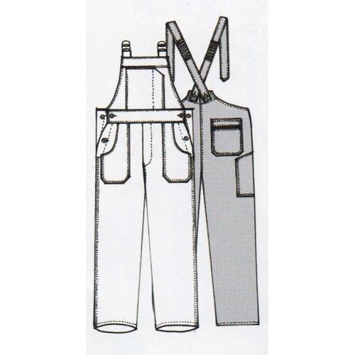 Cotte à bretelles Le laboureur polyester/coton