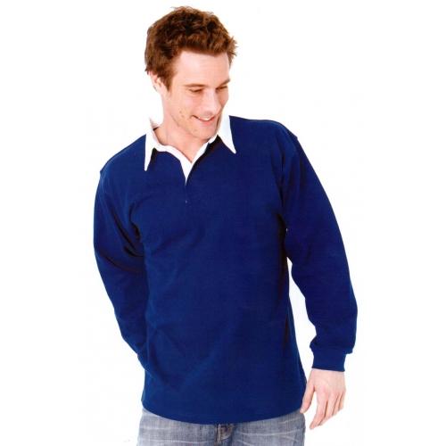 Polo coton manches longues 320 g/m²