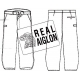Moleskin trousers largeot REAL AIGLON