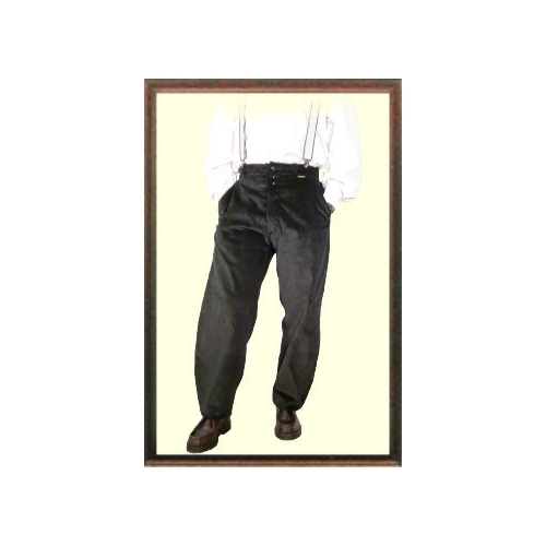 Largeot velvet pants with loops companion