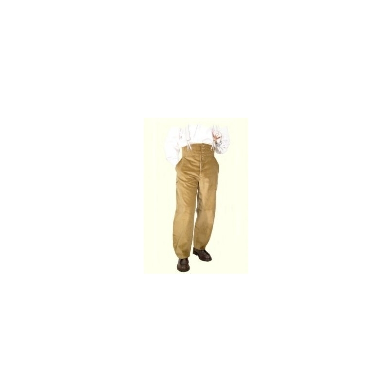 Velvet pants largeot companion tie