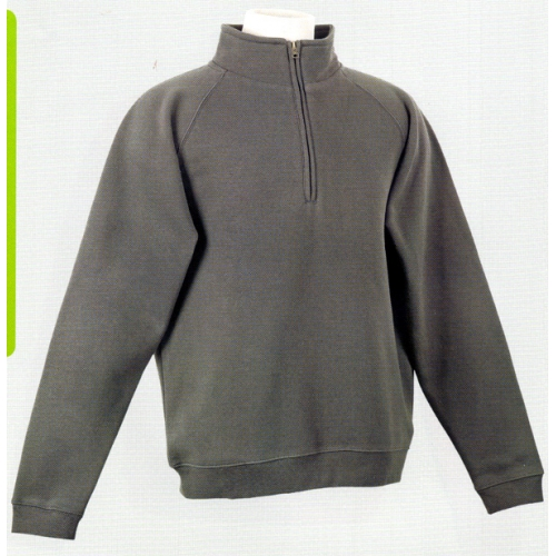 Sweat polycoton 1/4 zip 285 Bruntwood
