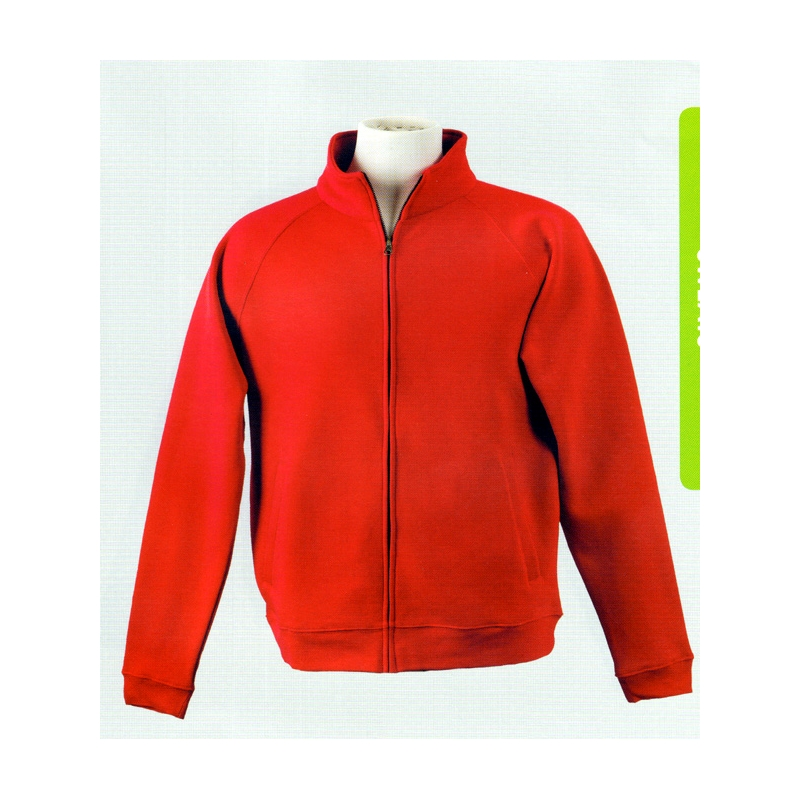 Sweat polycoton zip 285 Bruntwood