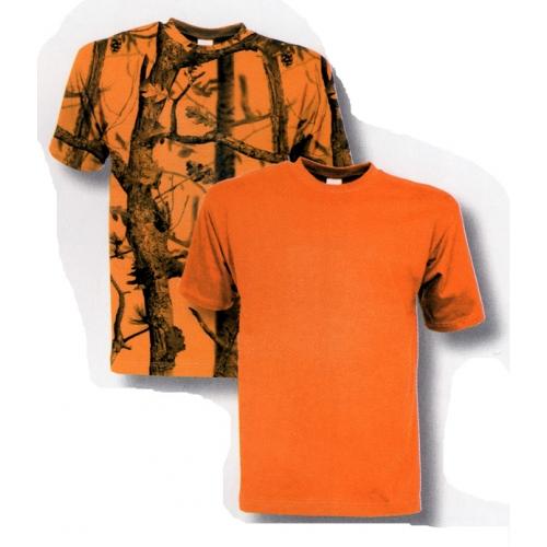 Tee-shirt de chasse fluo