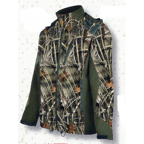 Blouson de chasse Percussion Softshell GhostCamo Wet