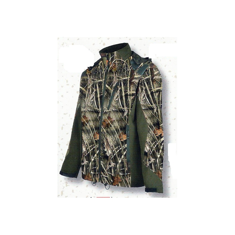 Blouson Soffshell GhostCamo Wet