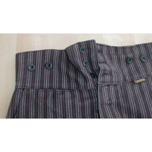 Pantalon droit coutil Le Laboureur 100% coton taille 38