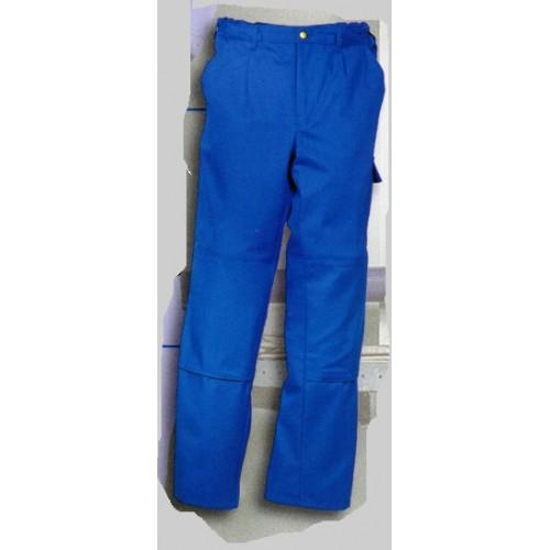 Pantalon de travail bleu royal