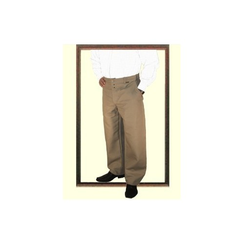 Pantalon largeot en lin