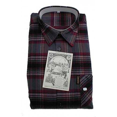 Chemise Grand Panet Hiver ouverte