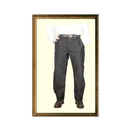 Pantalon largeot moleskine à passants