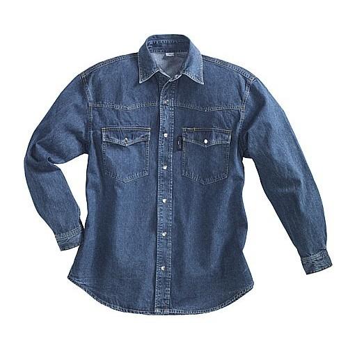 Chemise en jeans manches longues PIONIER