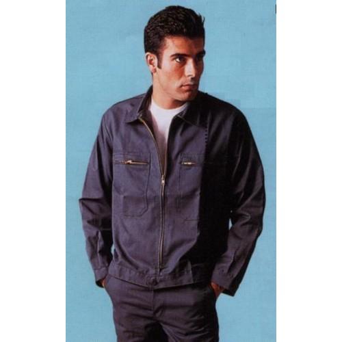 Blouson de travail 2 poches polyester/coton