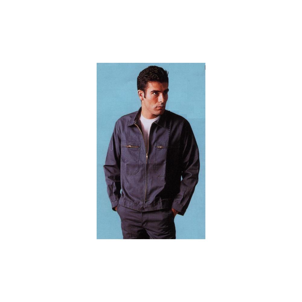 blouson de travail 2 poches polyester coton jean marc wermeille. Black Bedroom Furniture Sets. Home Design Ideas
