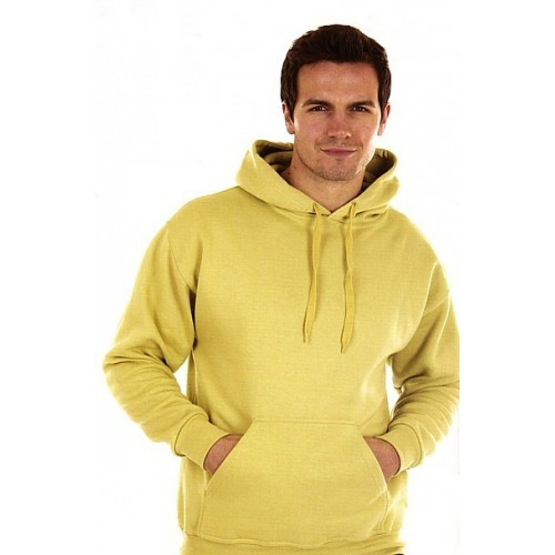 Sweat capuche poly/coton 340 g/m²