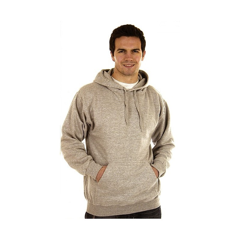Sweat capuche poly/coton 280 g/m²