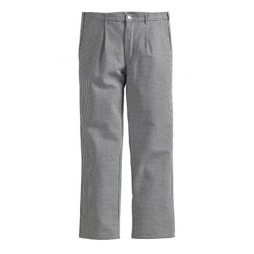 Pantalon à pinces fermeture boutons