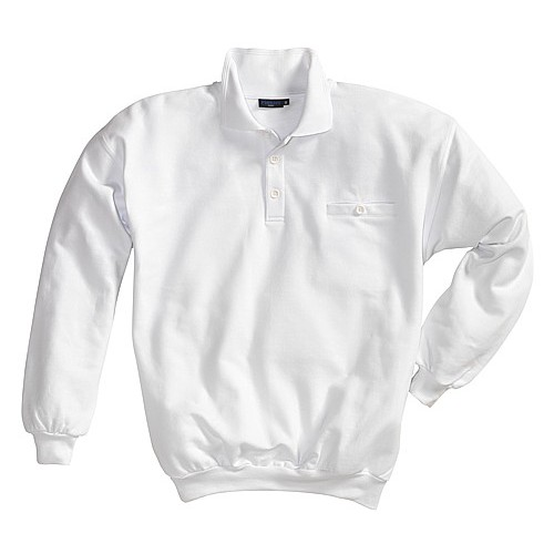 Sweat-shirt col polo