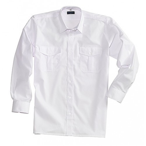 Chemise pilote poly/coton