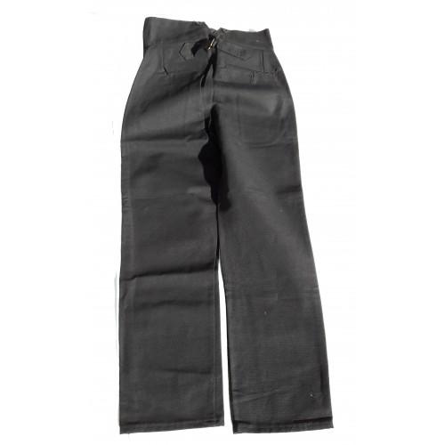Pantalon droit Le Laboureur en lin - taille 38