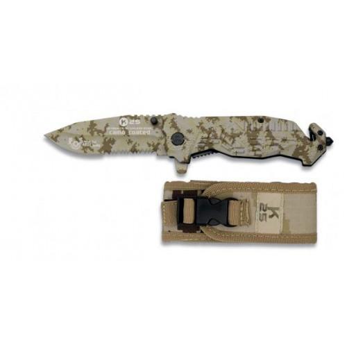 Couteau de poche camouflé