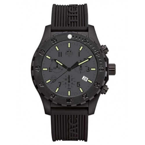 Montre Trooper Carbon Chrono Tactital H3Tactical