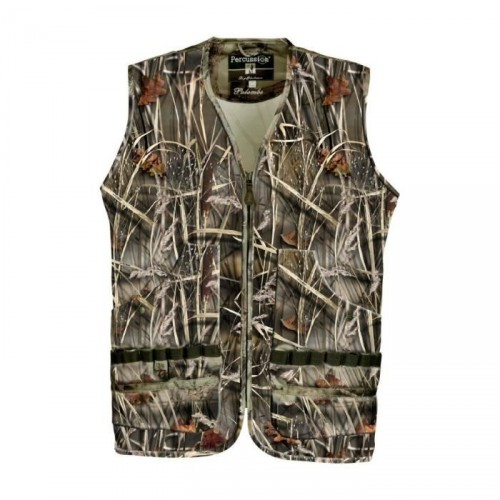 Gilet de Chasse Palombe GhostCamo Wet Percussion