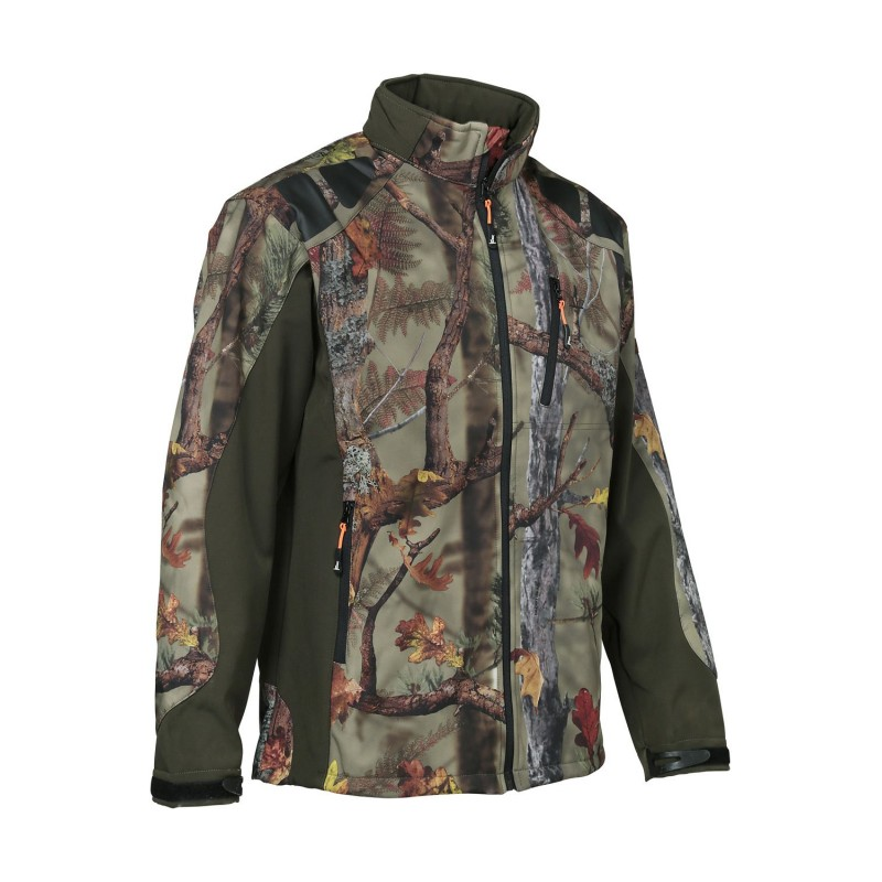 Blouson Softshell GhostCamo Forest