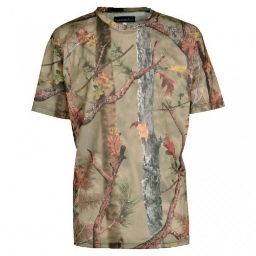 Tee-shirt de chasse Percussion Palombe GhostCamo Forest à manches courtes