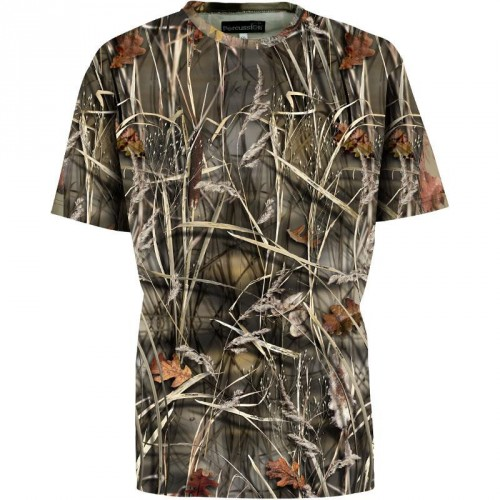 Tee-shirt Palombe Manches courtes Ghost Camo Wet
