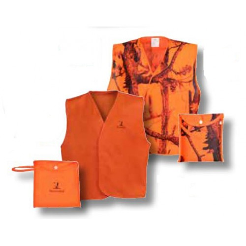Gilet fluo de traque fluo Percussion