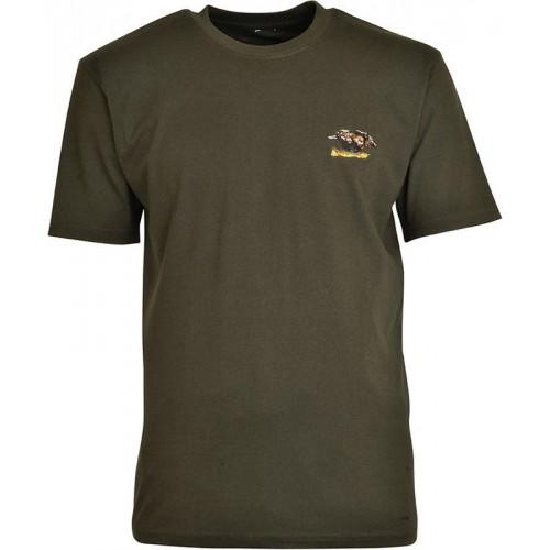 Tee-shirt de chasse brodé