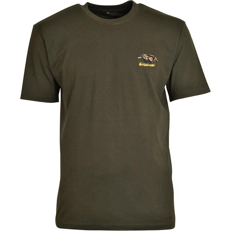 Tee-shirt de chasse Percussion brodé