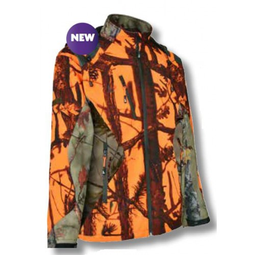 Blouson de chasse Percussion Softshell GhostCamo
