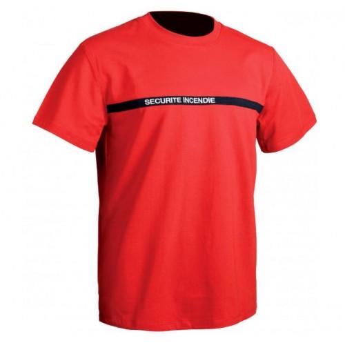 Tee-shirt Sécurité Incendie TOE