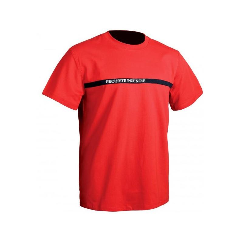 Tee-shirt Sécurité Incendie