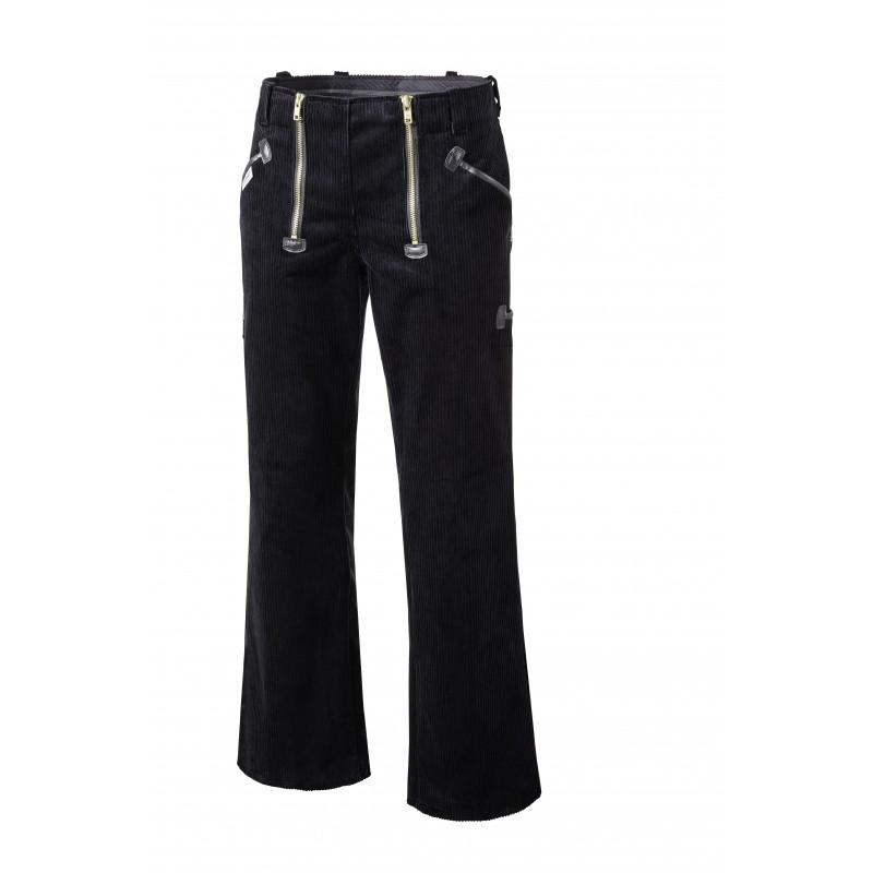 Pantalon largeot Allemand en velours côtelé