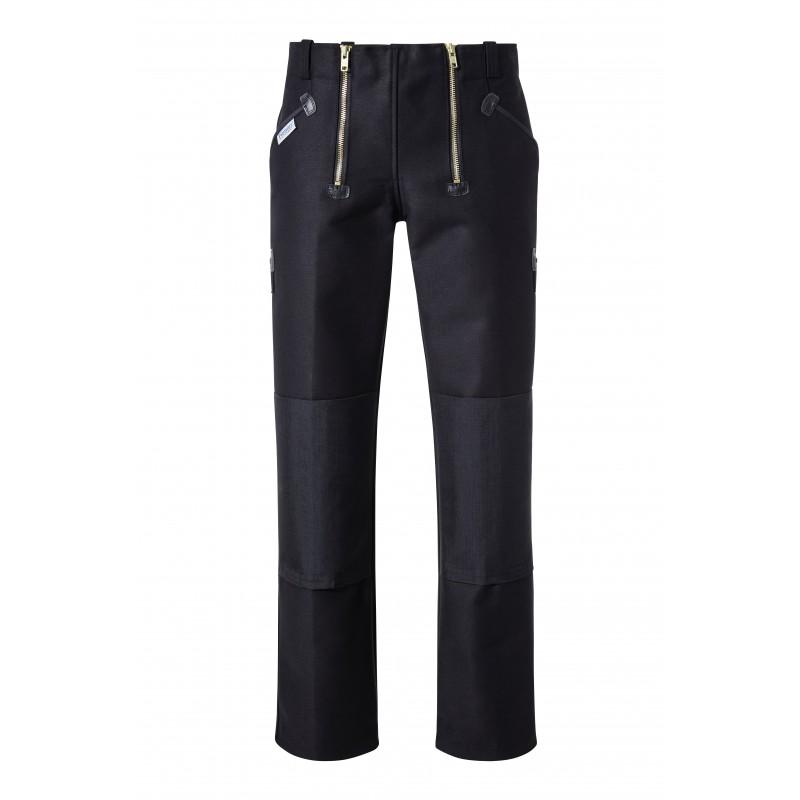Pantalon de charpentier avec entrejambe renforcée
