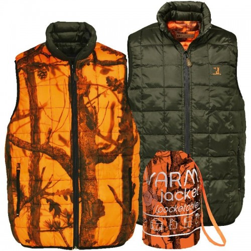 Gilet Warm Réversible Percussion