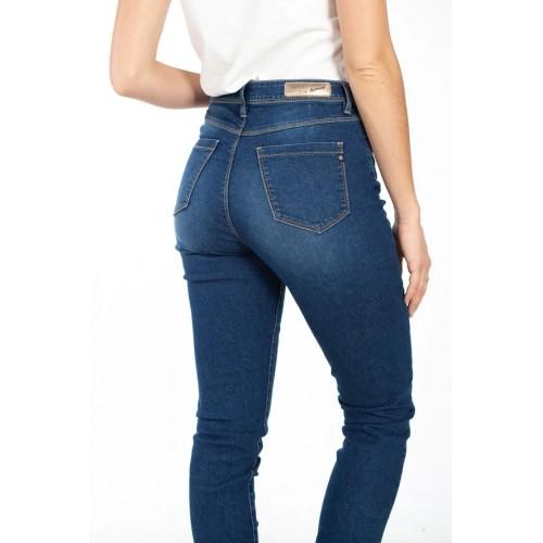 Jeans COMPLICES Taille Haute STRETCH stone pour femme