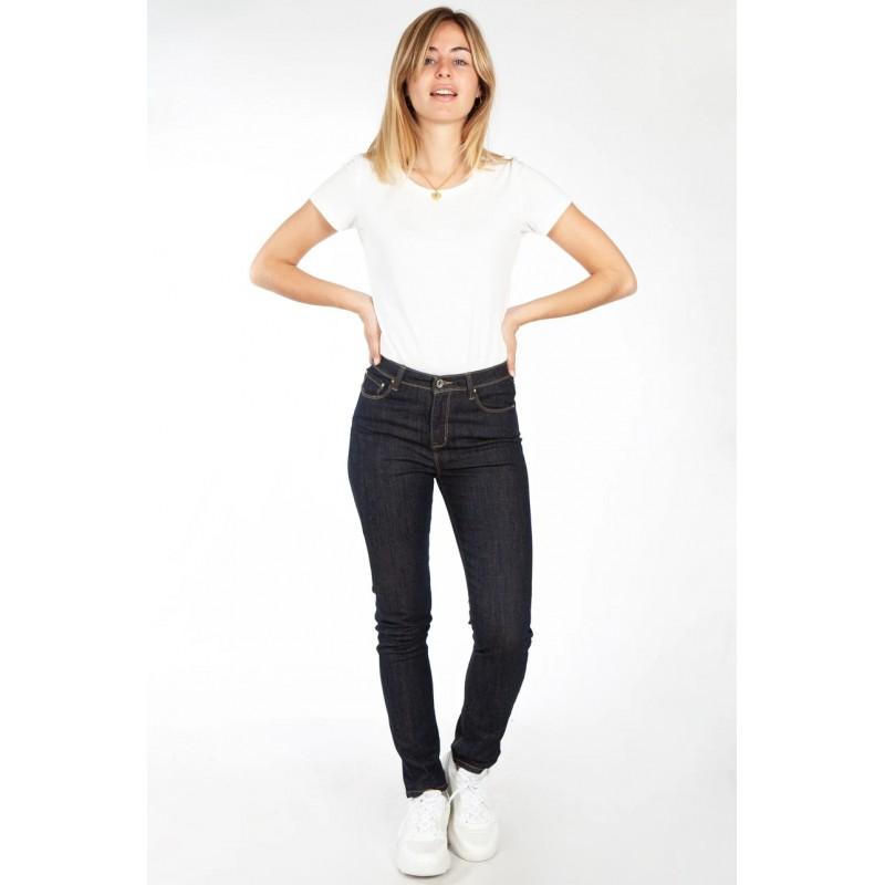 Jeans Complices femme brut taille haute