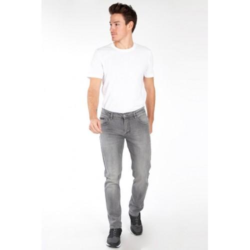 Jeans COMPLICES STRETCH gris pour homme