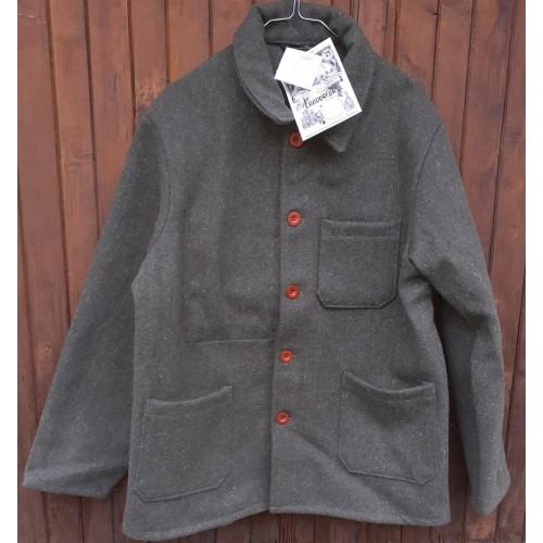 Veston en drap 100% laine BUREL Le Laboureur