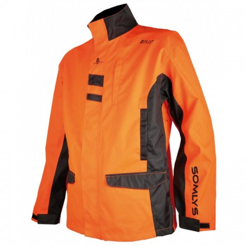 Veste anti-ronces orange
