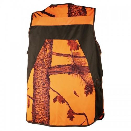 Gilet camo orange summer V2