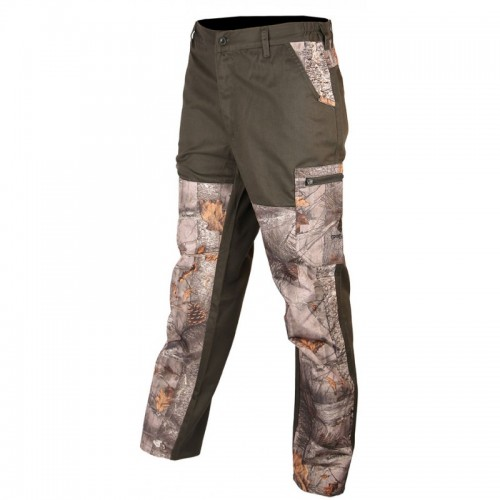 Pantalon renfort camo forest