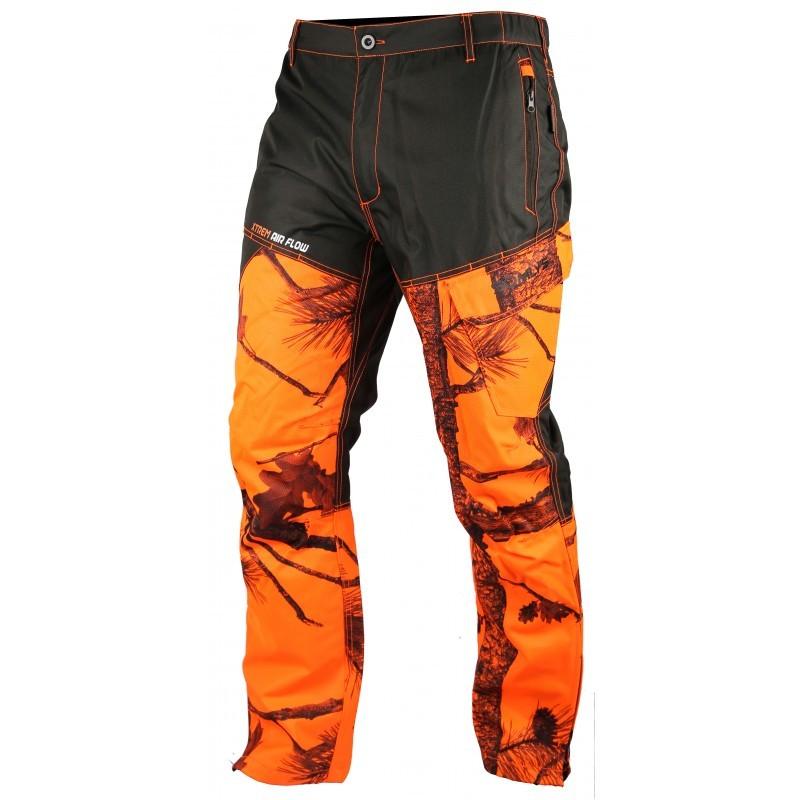Pantalon fuseau renforcé EVO camo orange
