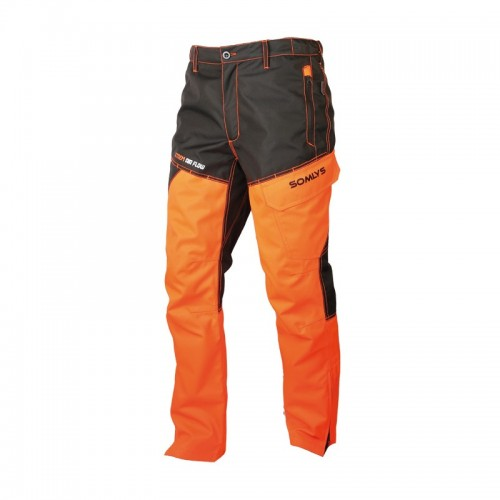 Pantalon fuseau renforcé EVO camo orange